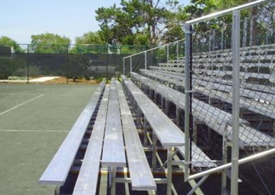 10-row bleachers