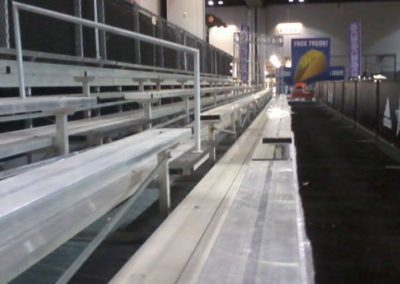5-Row Bleacher Layout