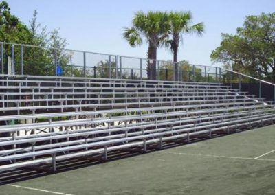 Bleachers for Tennis Match