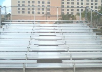 Custom Bleacher Installation