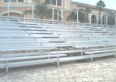 custom rental bleachers